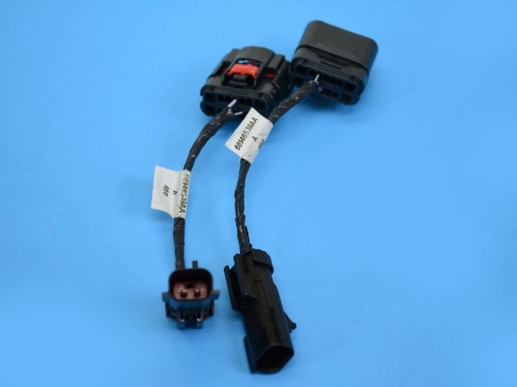 2013 Jeep Wrangler Wiring Harness Connectors To Be Used On