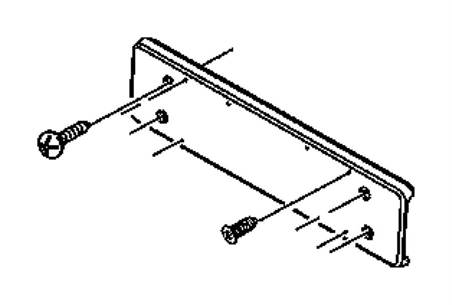 jeep wrangler screw  round head  m6x1 00x23 200  pplatinum