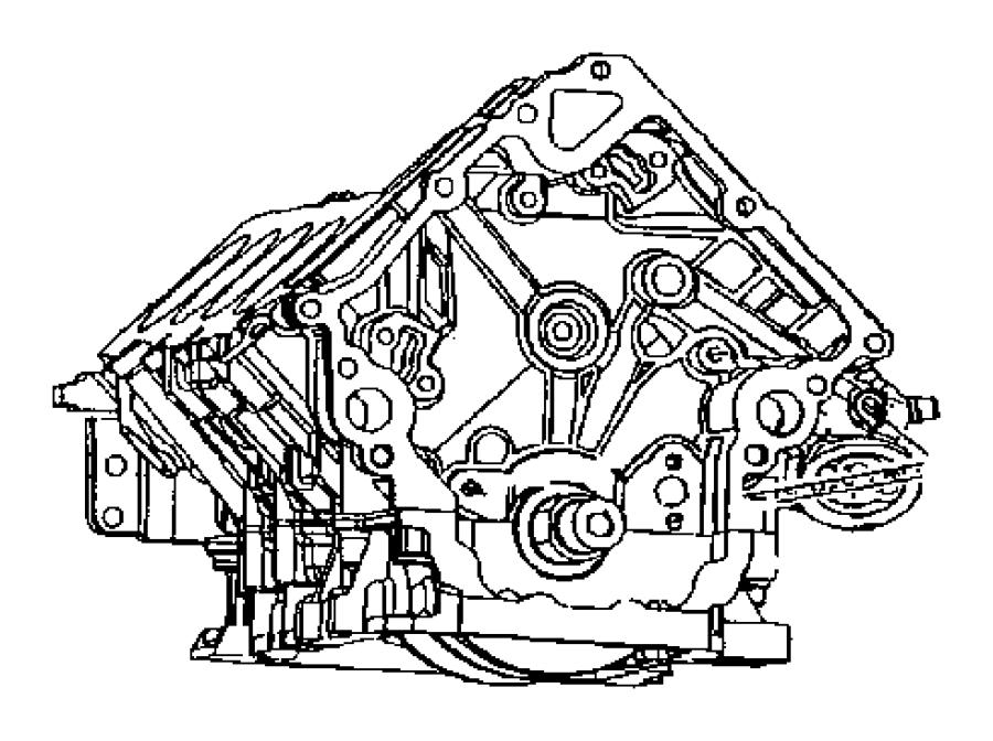 1998 dodge grand caravan adapter  connector  oil filter