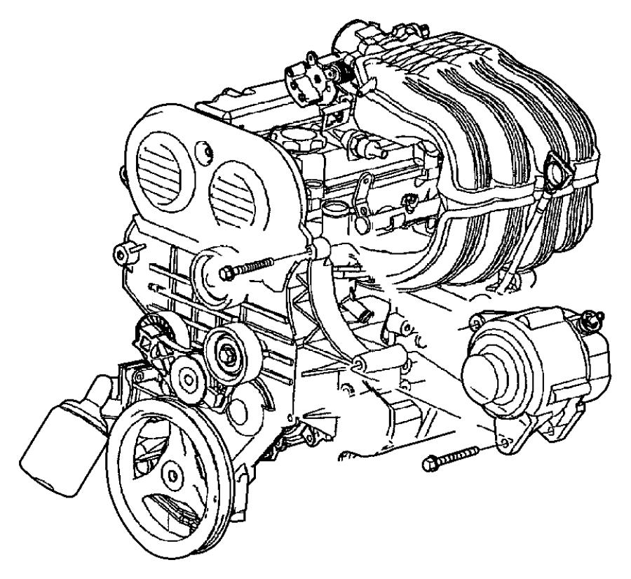 2010 chrysler sebring pulley  idler  timing belt  double bearing  double bearing  idler  timing