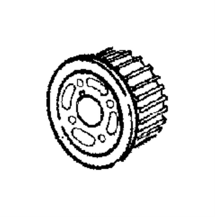 2012 jeep compass gear  sprocket  crankshaft  timing belt