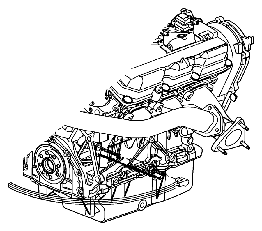 2011 Jeep Compass Cord Engine Block Heater 3 5l Kit