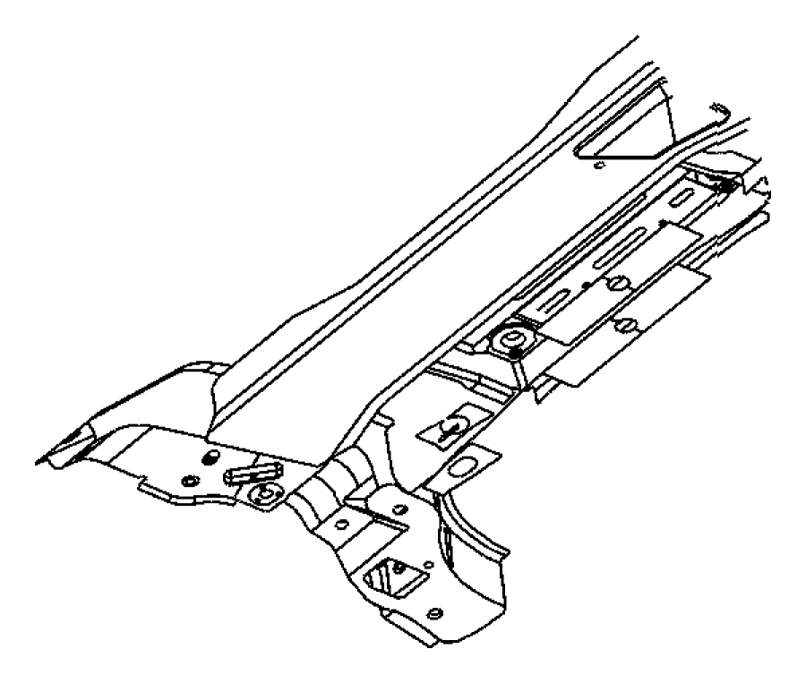 pt cruiser front sway bar diagram