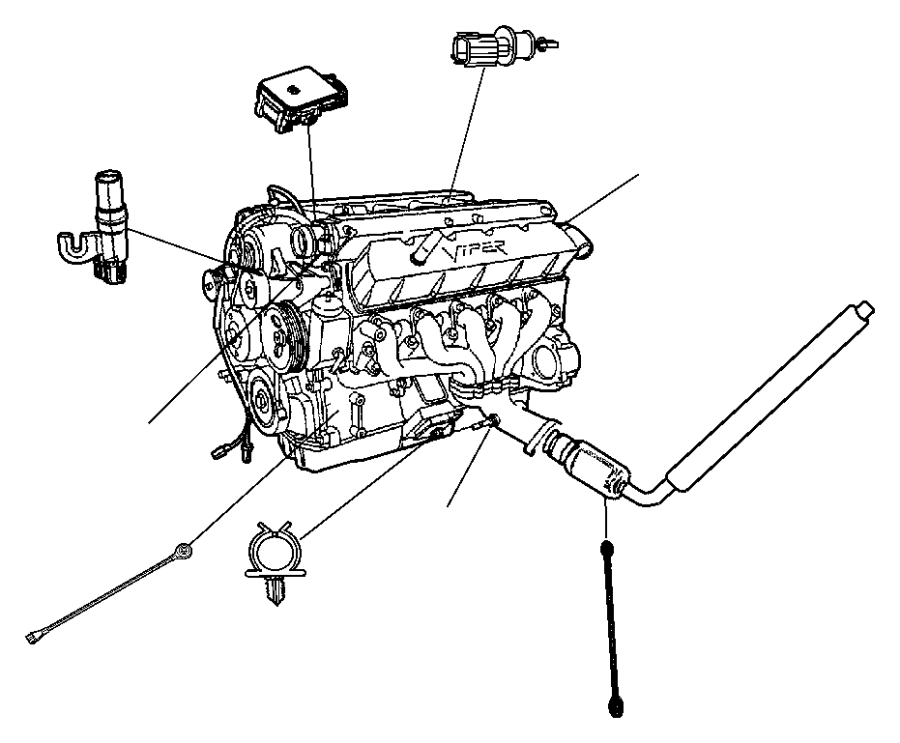 Chrysler Town Amp Country Sensor Map Emissions Engine