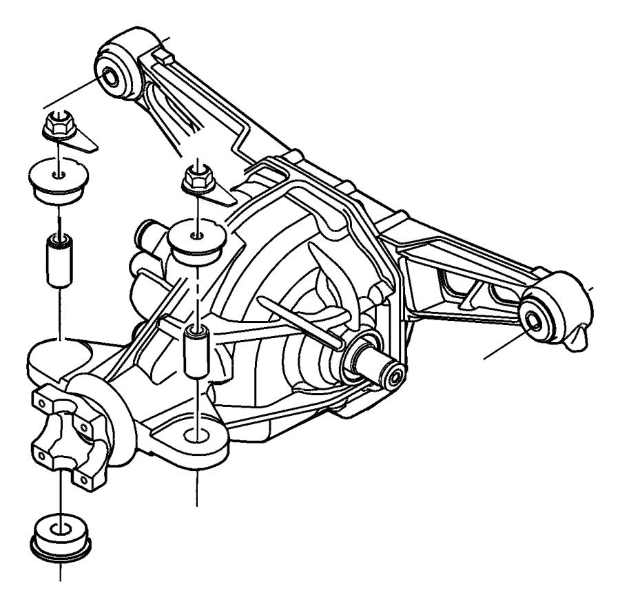 2007 dodge 3500 front axle diagram
