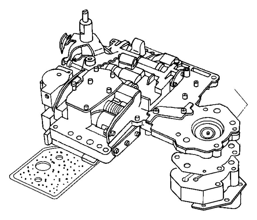 2006 dodge ram 2500 valve body  transmission