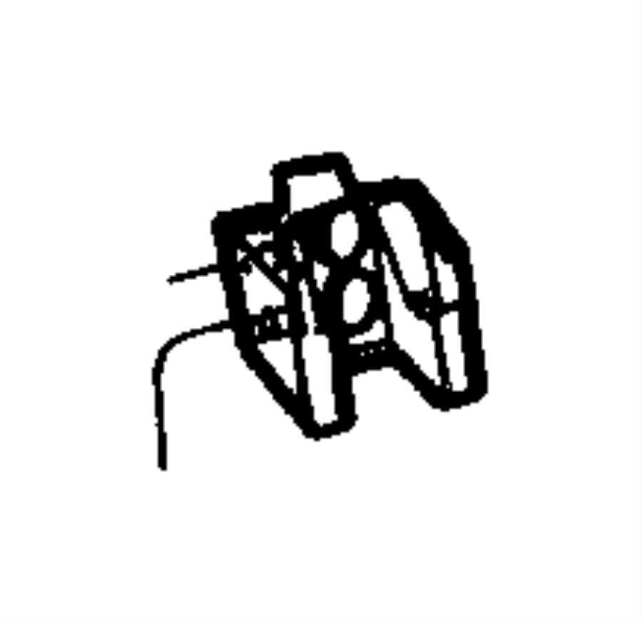 2005 jeep wrangler bracket  hood catch  catches  lock