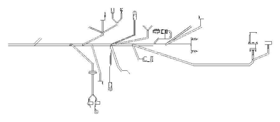 2007 chrysler crossfire wiring  body  instrument panel