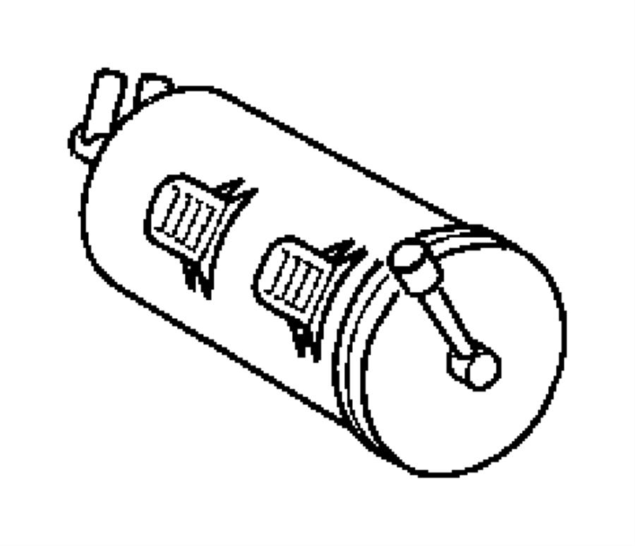 diagram 2006 chrysler crossfire exhaust