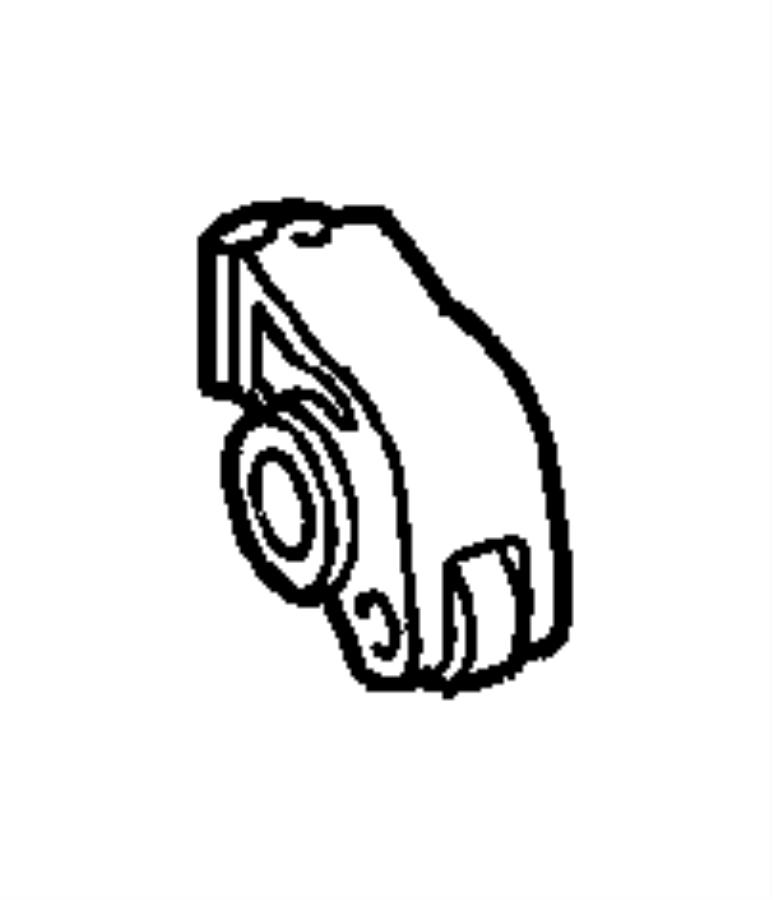 2006 Chrysler Crossfire Rocker Arm. Exhaust. Camshaft