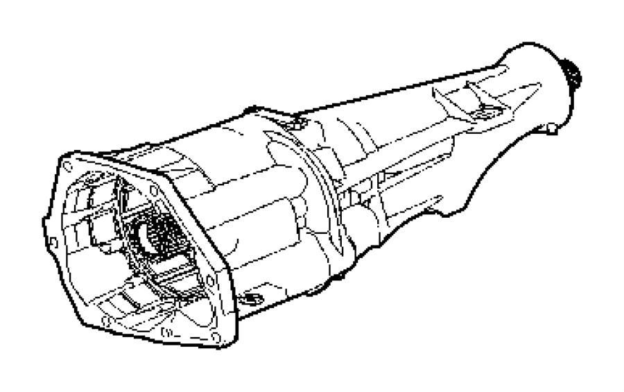 2010 dodge avenger overdrive  transmission  assembly