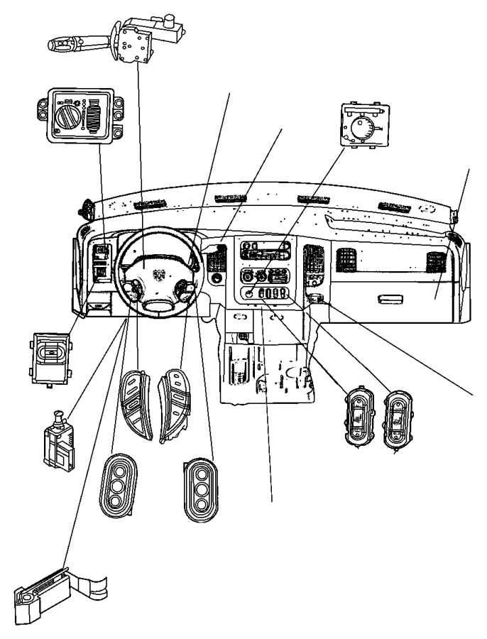 2006 dodge ram driver seat diagram