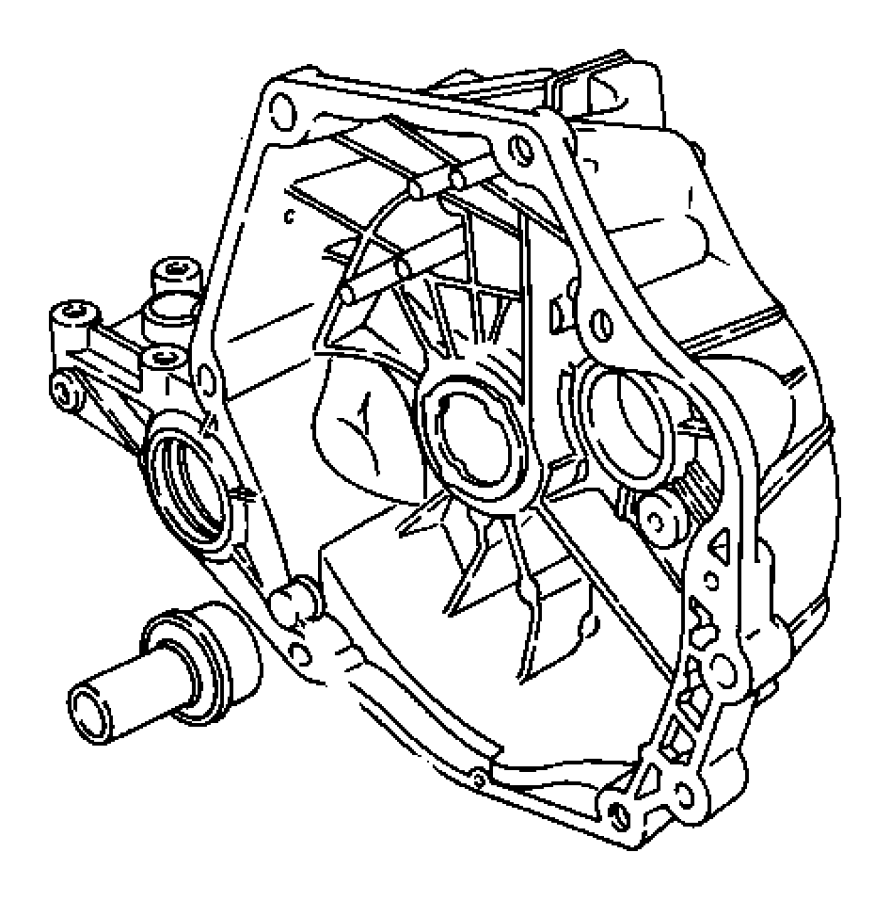 2015 jeep compass housing assembly  used for  clutch and differential