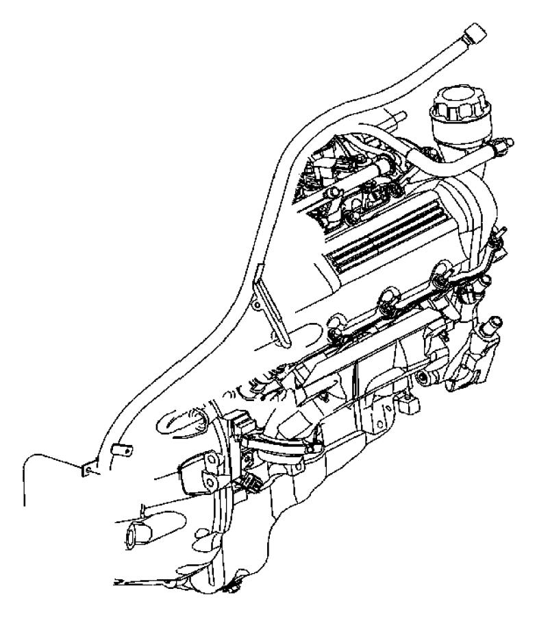 2007 Jeep Commander Tube. Transmission Oil Filler