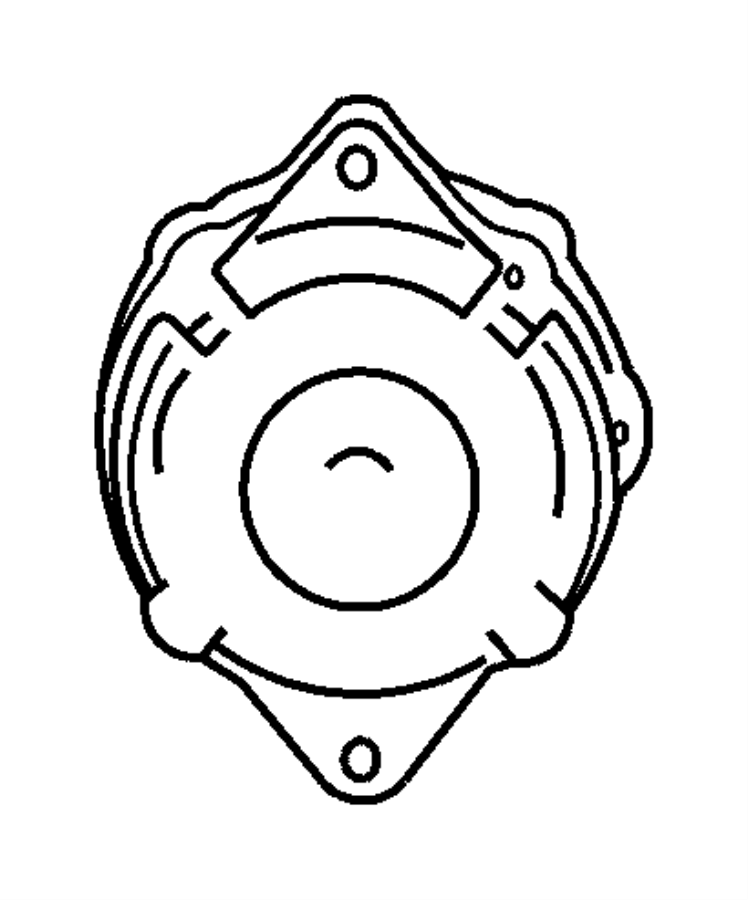 2008 chrysler pt cruiser generator  engine  remanufactured   136 amp alternator