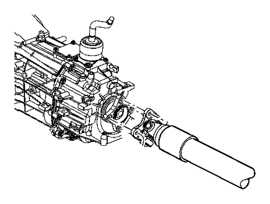 2009 dodge dakota flange  drive shaft  front  rear  piece