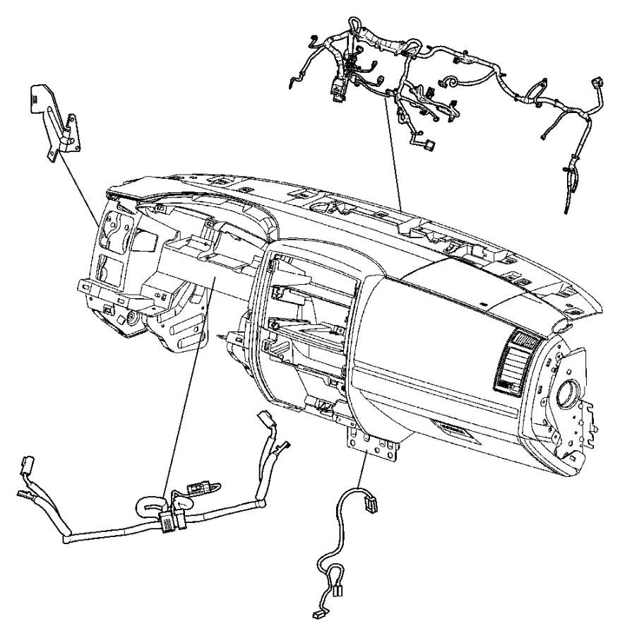 Dodge Dakota Wiring. Console. Floor console. [heated front ...