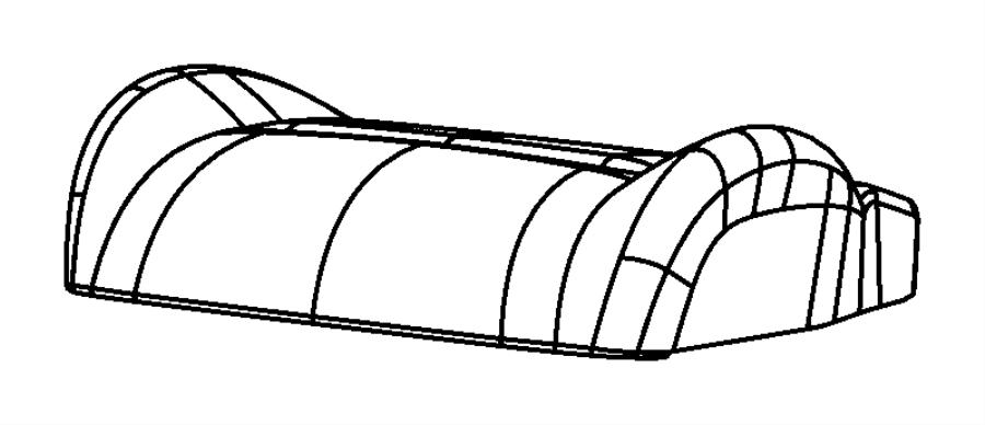 2007 dodge nitro cover  front seat cushion  mopar