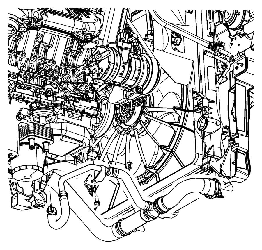 2007 Dodge Nitro Cooler  Engine Oil  Egs  Tubes  Coolant