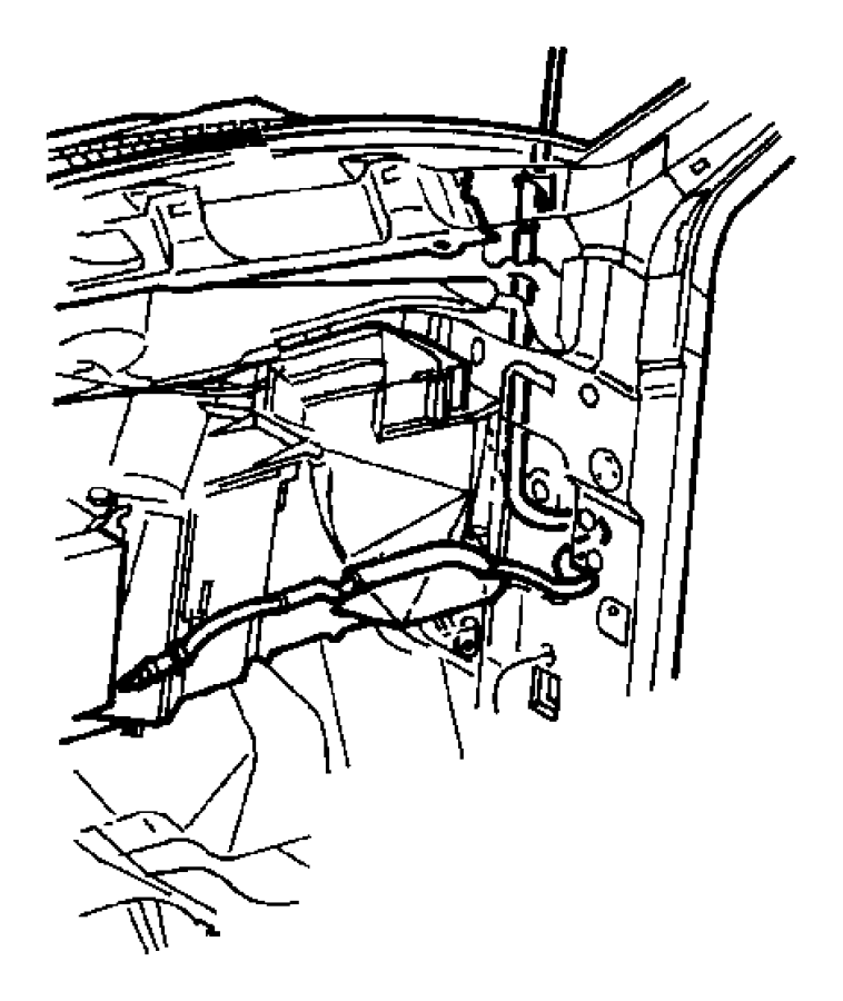 Chrysler 300 Cable. Antenna. Trim: [all Trim Codes