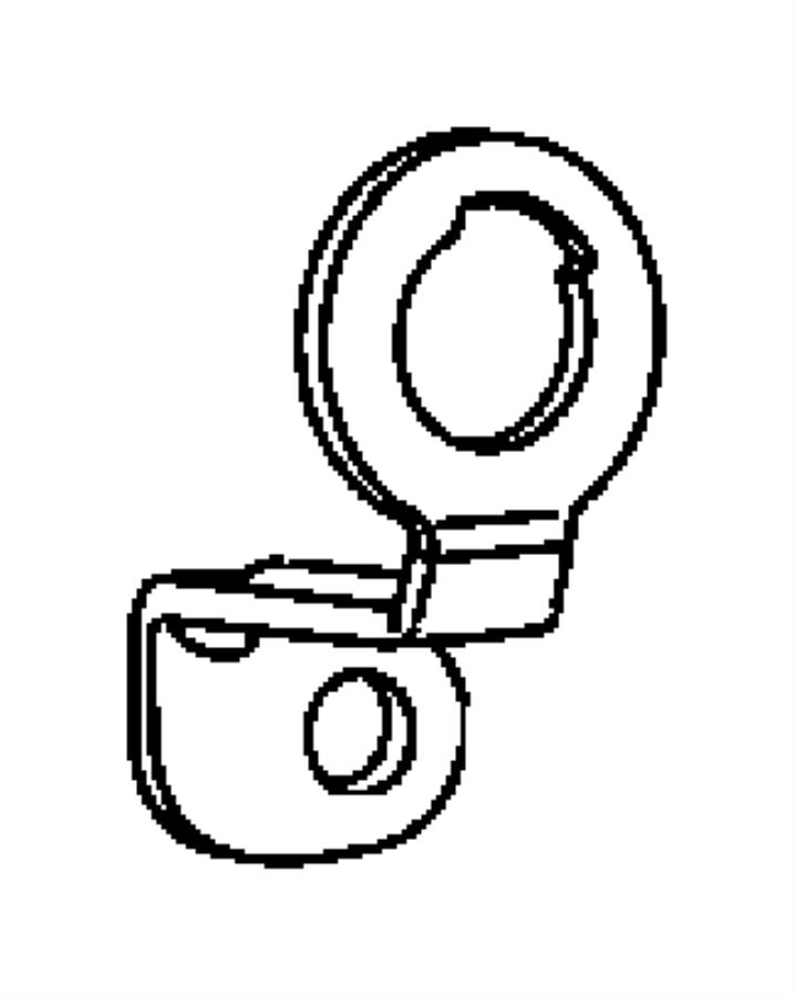 2007 chrysler pt cruiser lever  liftgate lock cylinder