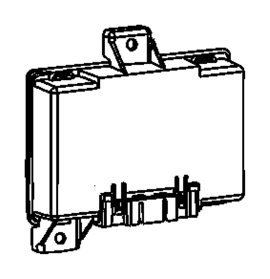 2010 Jeep Patriot Module  Receiver  Export  Gxp  Entrythatcham  Limerkeyless