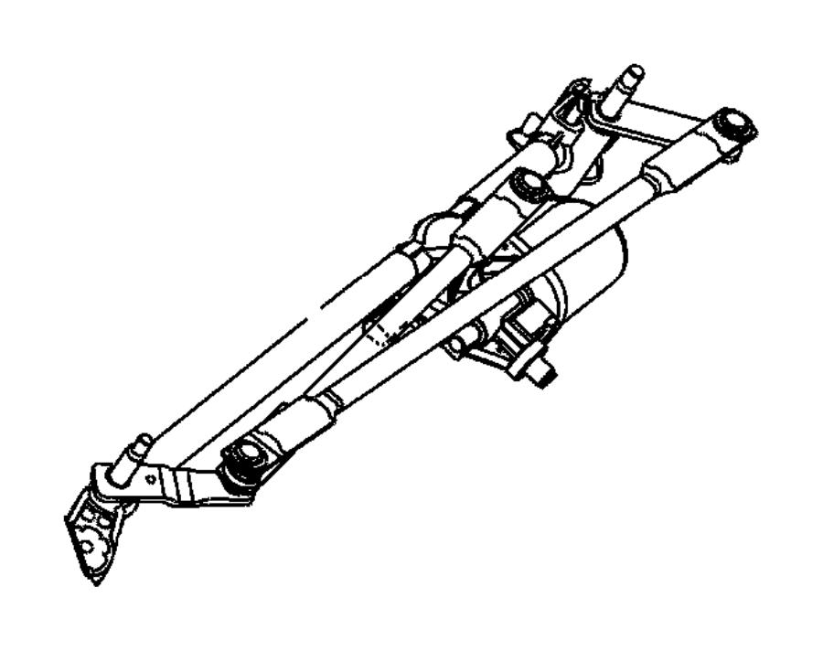 2012 chrysler 200 used for  pivot and linkage  wiper   var