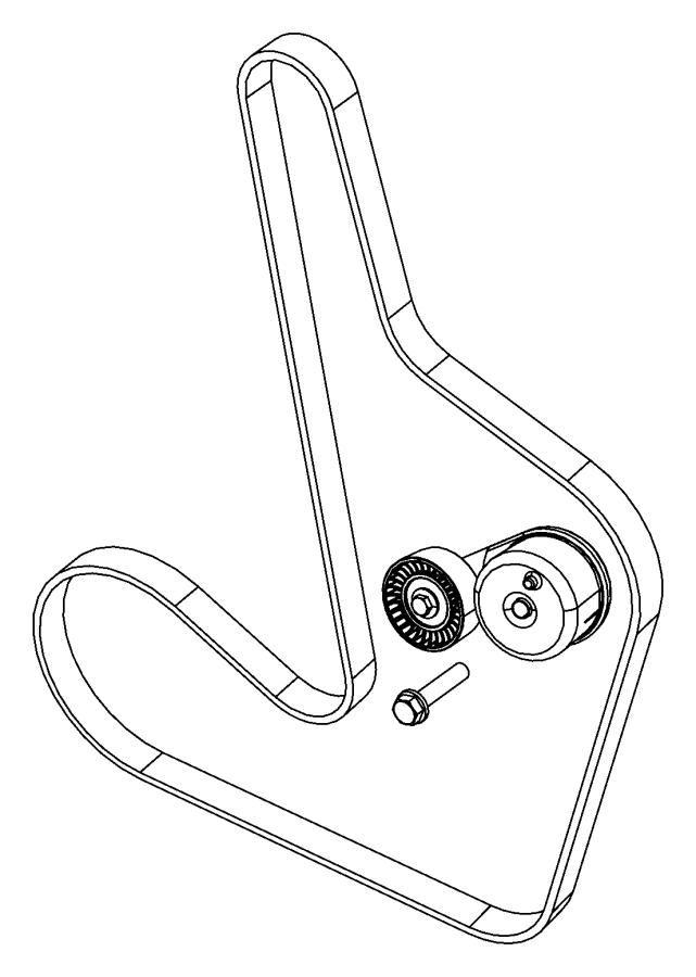 2008 dodge avenger belt  accessory drive  serpentine  accessory drive