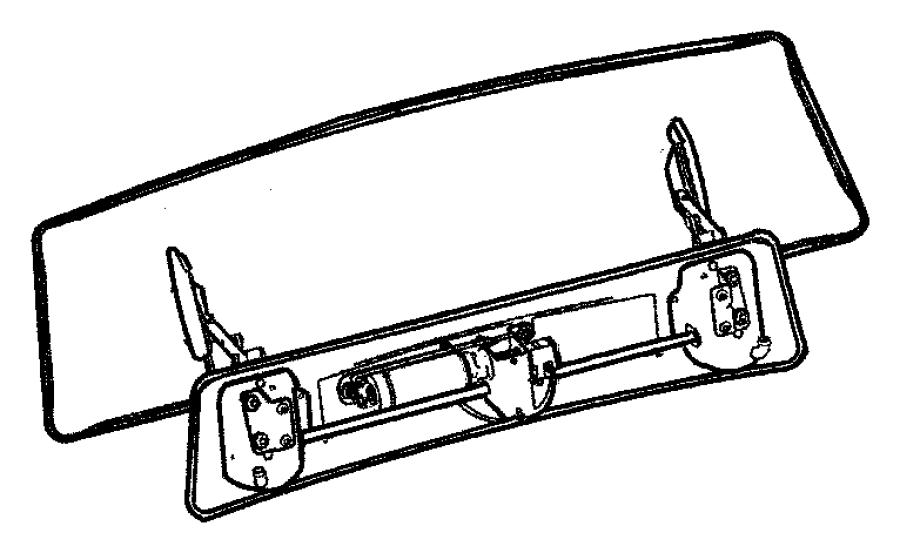 2005 Chrysler Crossfire Spoiler  Srt6  Fixed  Crossfire  Color   No Description Available