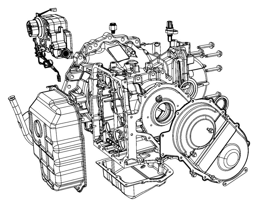 2010 dodge grand caravan solenoid module  transmission