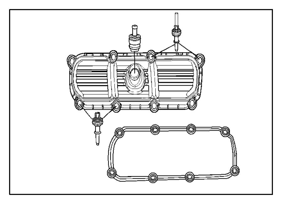 2007 jeep wrangler gasket  cylinder cover  cylinder head