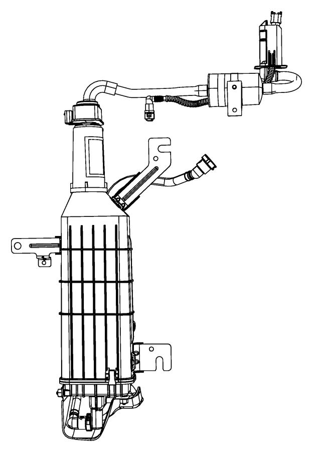 ram c  v filter  fuel vapor vent  canister  pump  leak