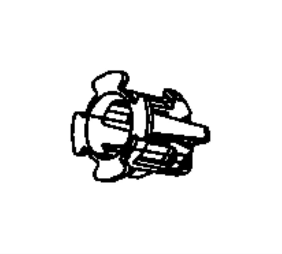 1996 dodge viper bushing  hydraulic clutch actuator