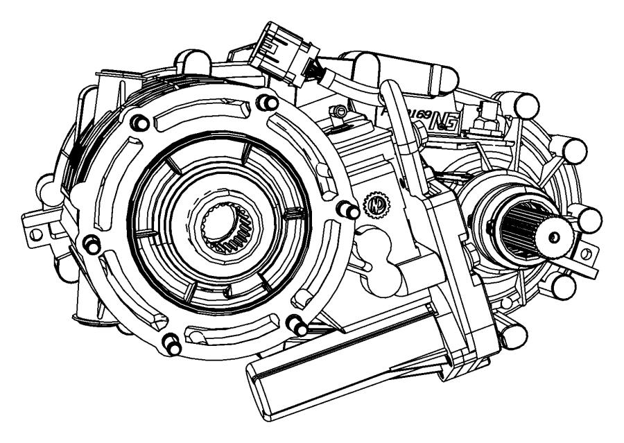 2010 dodge ram 1500 sensor  speed  in transfer case  shift