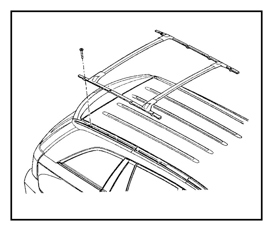 2007 chrysler pacifica rack kit  multipurpose  usable