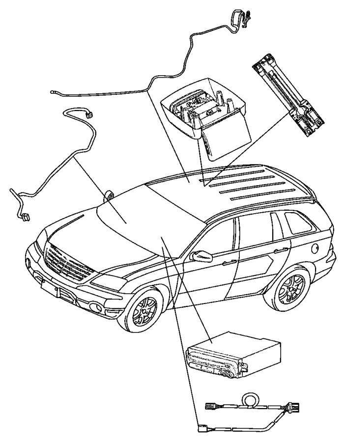 2005 dodge caravan bracket assy  rear seat video  w  xrw