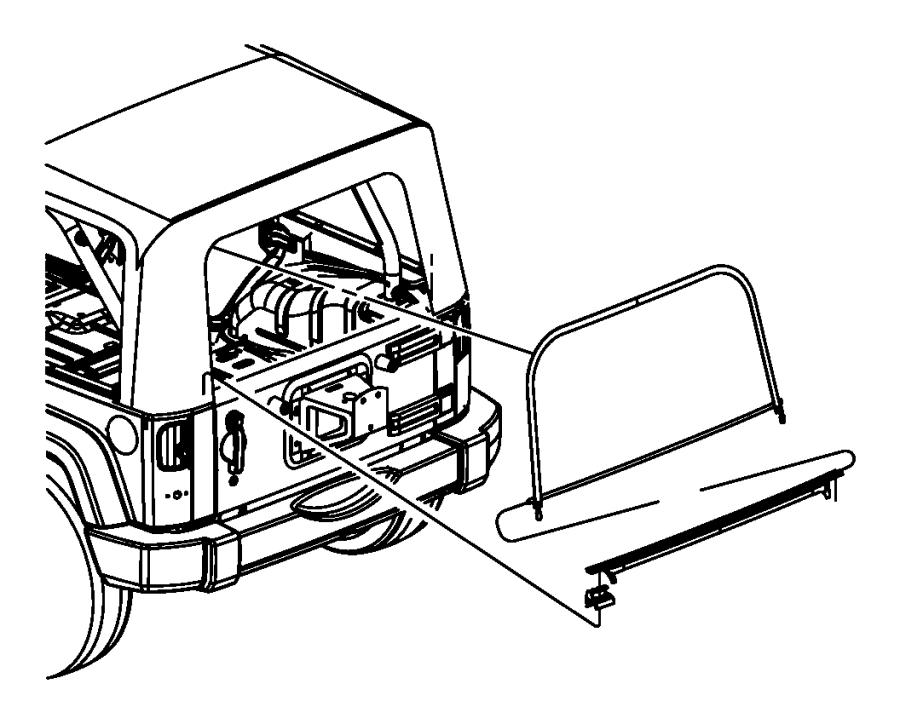 I on Jeep Wrangler Soft Top Oem Parts Diagram