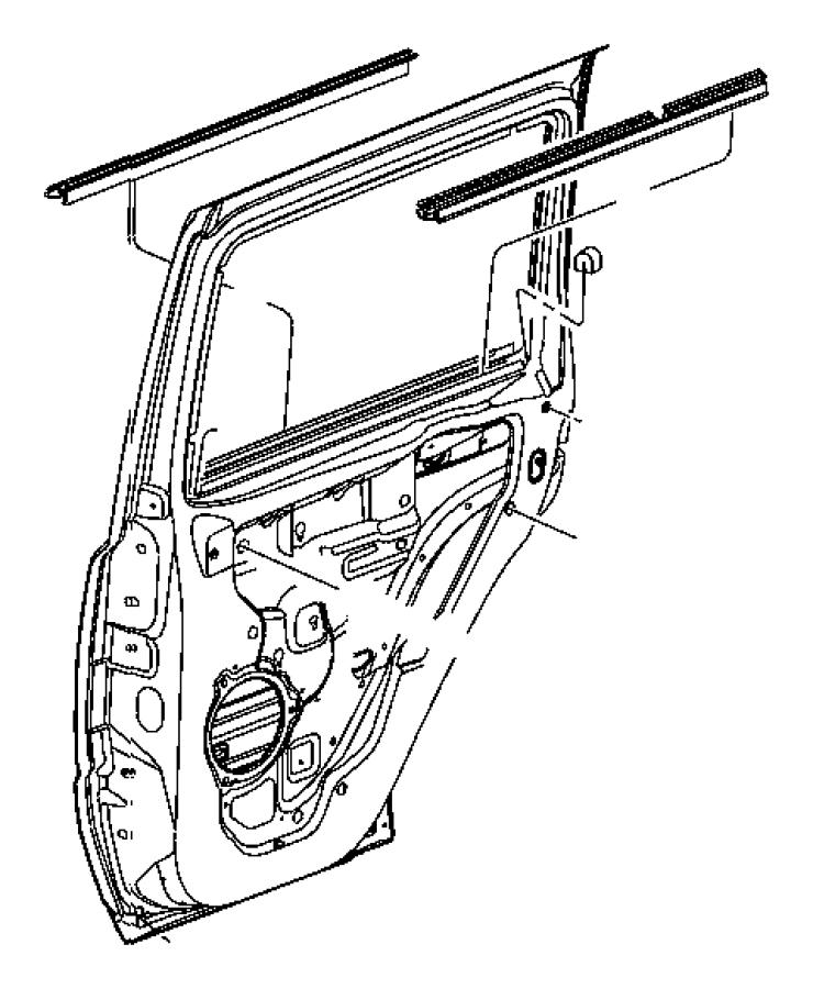 2006 Jeep Commander Body Parts Diagram