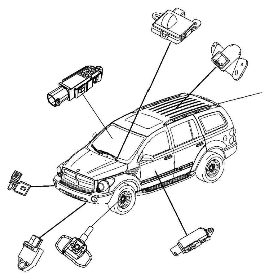 2012 dodge ram 1500 sensor  infrared  trim   all trim