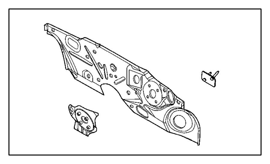 chrysler pt cruiser panel  dash