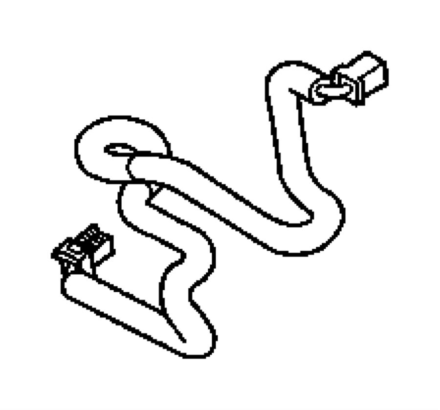 2007 jeep patriot wiring  jumper  message center  traffic