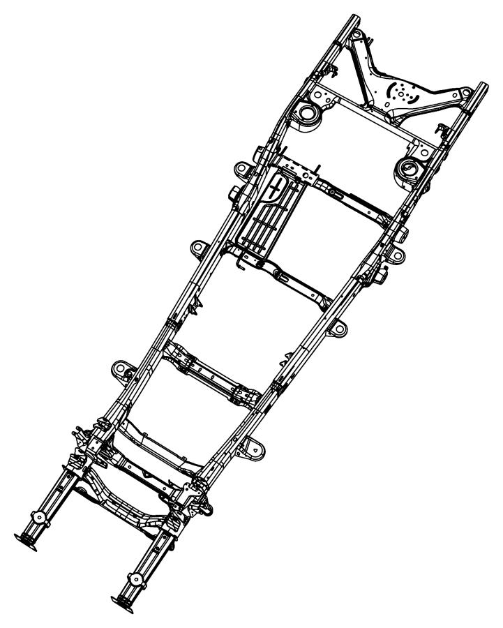 2007 dodge durango bracket  body mount  b