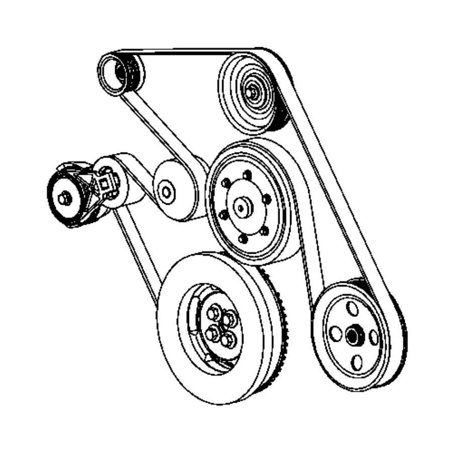 dodge ram 5500 pulley  alternator   6