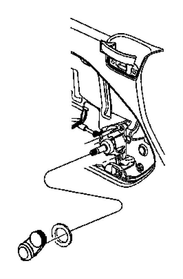2007 dodge caliber drive  manual window regulator  left  trim   premium cloth bucket seats