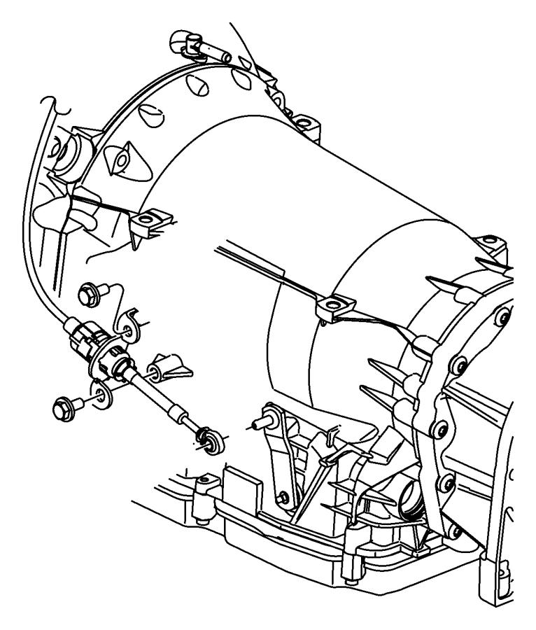 Dodge Charger Shifter Ledningsdiagram