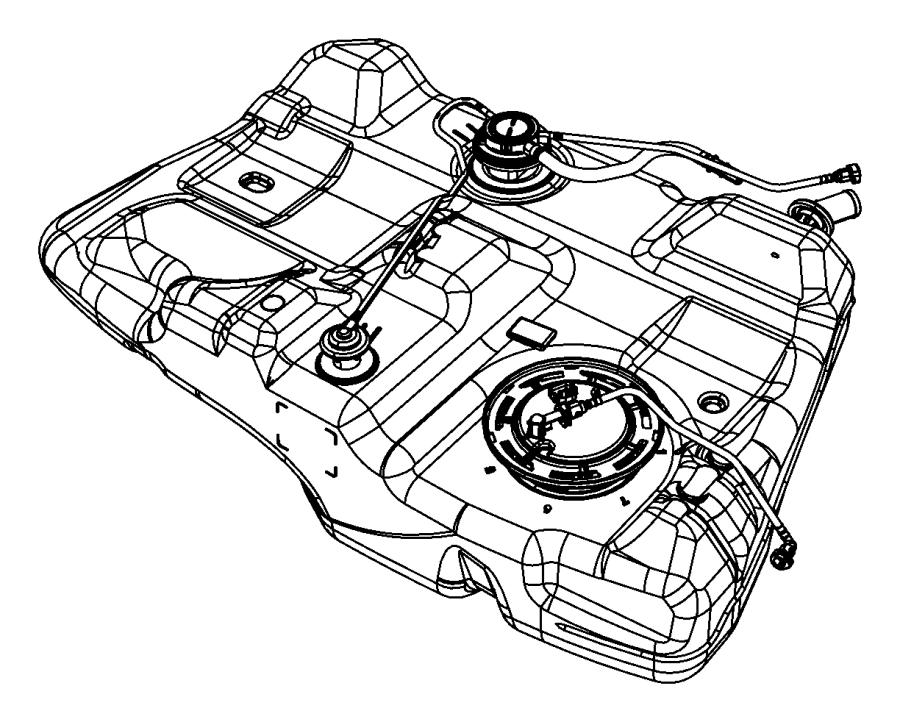 2011 dodge avenger tank  fuel   18 5 gallon fuel tank