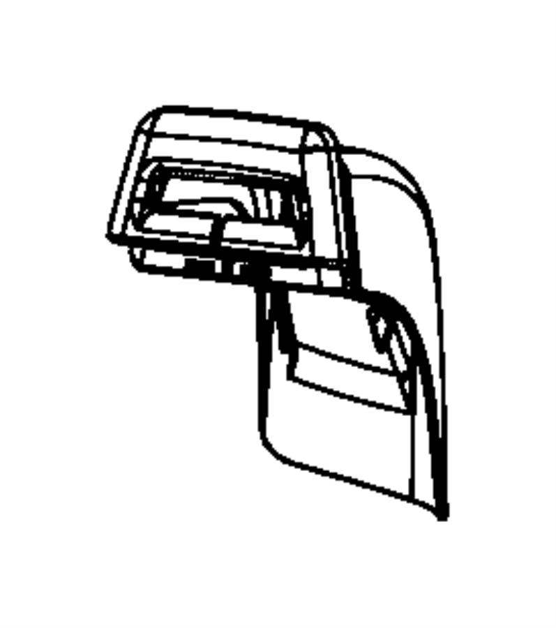 2008 Chrysler Sebring Cover  Seat Belt  Left  Trim   Leather Trimmed Bucket Seats  Color   No