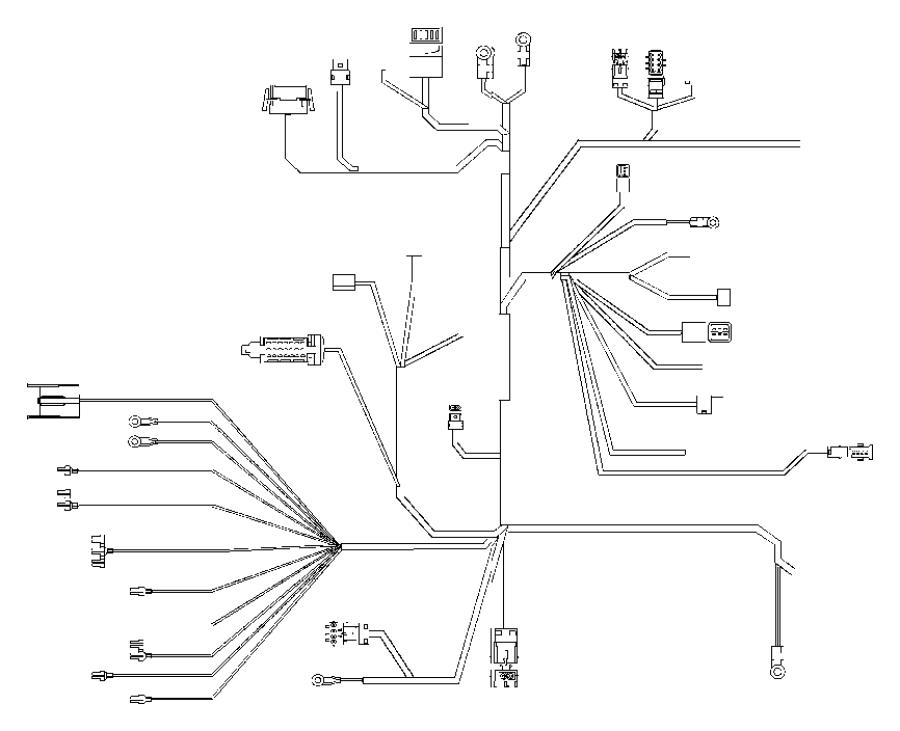 chrysler crossfire wiring  body   am  fm cd gps navigation radio