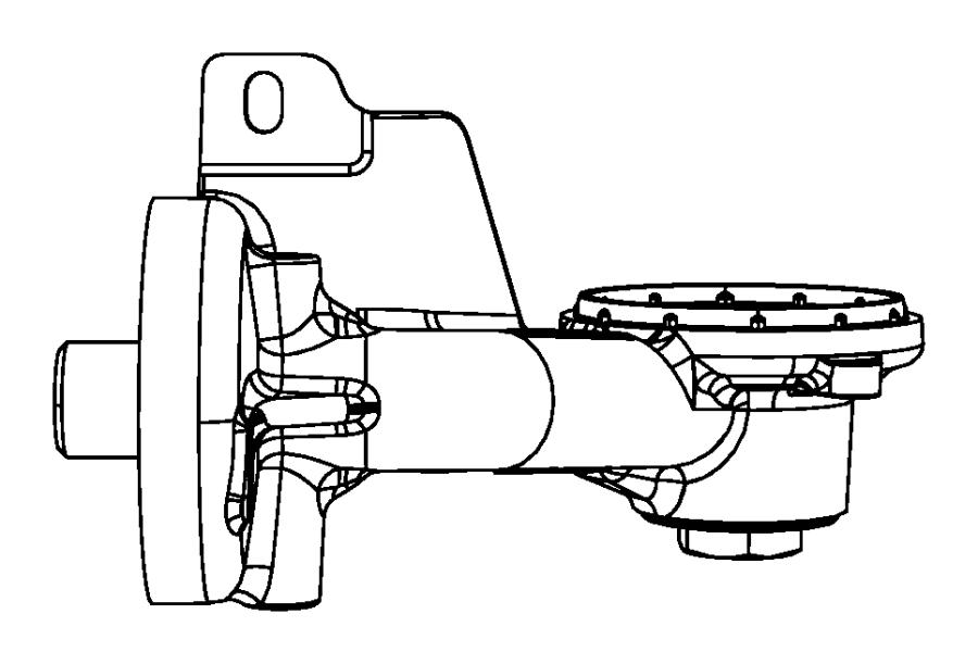 2010 dodge grand caravan gasket  oil filter adapter