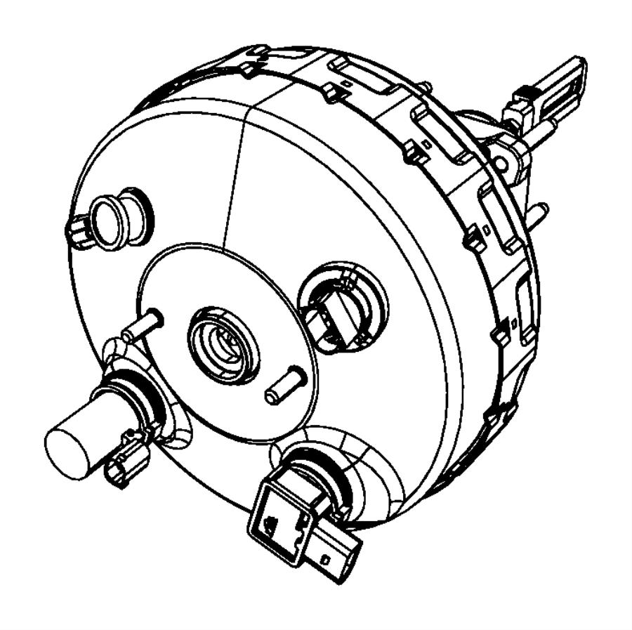 Chrysler Aspen Sensor. Vacuum. Brake - 68054212AA | Myrtle ...